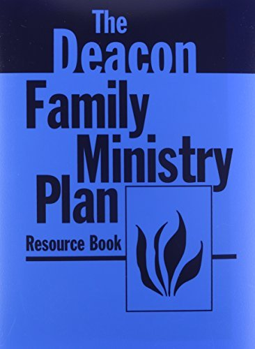 Deacon Family Ministry Plan Resource Book by Charles Chandler (1974-05-08)