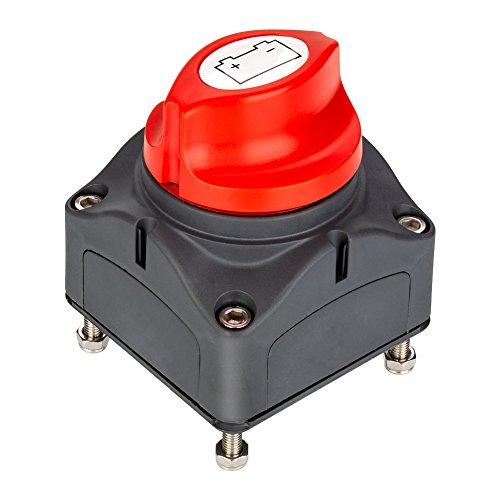 Batterie-Wahlschalter bewertet 300A 450A intermittierende Marine-Batterie-Schalter Hochleistungsbatterietrennschalter Unterbrechungsschalter für Autoboot RV Rv Marine Batterien
