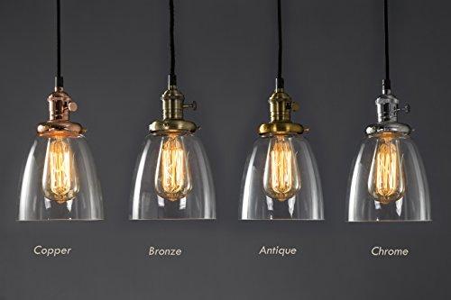 vintage-chrome-finish-klar-glas-fassung-loft-hangelampe-chrome