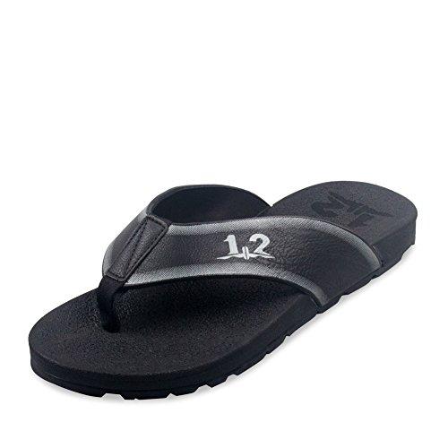 flops/Anti-dérapant pantoufles été/Porter des sandales plates avec des semelles épaisses/Sandales d'homme C
