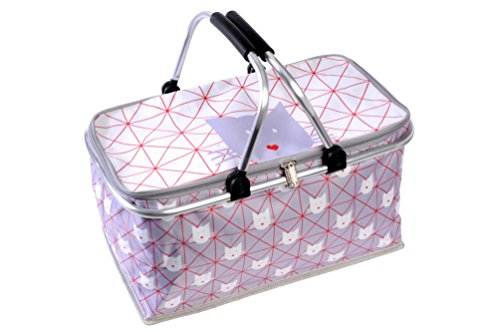 Fox Trot 8870GEOM Cabas de Courses Polyester Chat 46 x 27 x 25 cm