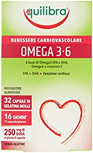 Equilibra Omega Capsule di Gelatina Molle, 32 Capsule, 38.4g