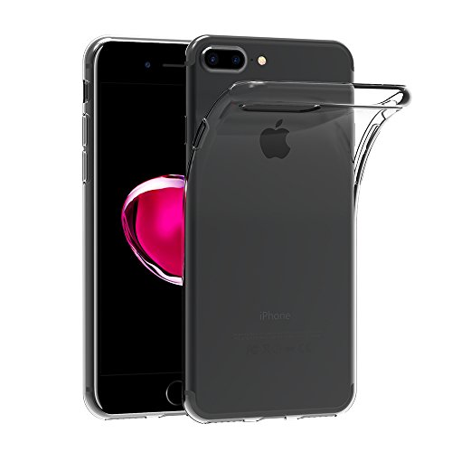 Funda iPhone 7 Plus, AICEK Protector iPhone 7 Plus Funda Transparente Gel Silicona Apple iPhone 7 Plus Premium Carcasa para iPhone 7 Plus 5.5