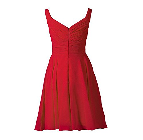 Drasawee Damen Empire Kleid 6#