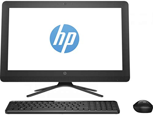 HP 20-C418il 19.45-inch All-in-One Desktop (Intel Pentium Silver J5005/4GB/1TB/DOS/Integrated Graphics), Jack Black
