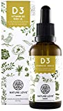 Nature Love Vitamin D3 Vegan 1.000i.E. pro Tropfen, 30ml