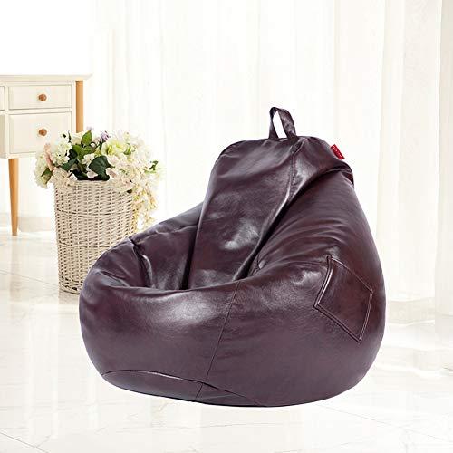 XUE Bean Bag-Stuhl, Memory Foam Bean Bag Chair Stuffed Foam Filled Furam Memory-Schaumstoffmöbel Bean Bag-Big Sofa mit Soft Micro Fiber Cover Ultra Soft Bean Bag Chair
