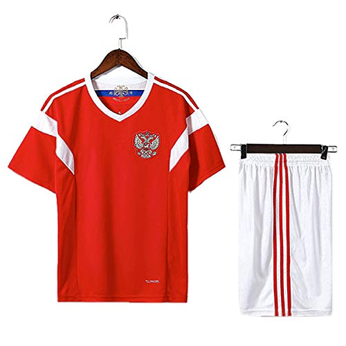 TOOGOO Familie Atmungsaktive Sportbekleidung Fussball Set World Cup Russland Fussball Trikots Uniformen Fussball Kit Shirt Trainingsanzug (Kinder, S) (Fußball-uniformen Kinder Für)