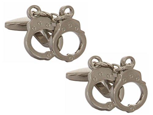 Dalaco Premium calidad Novedad Gemelos y caja. Fabricado en Inglaterra., Handcuffs