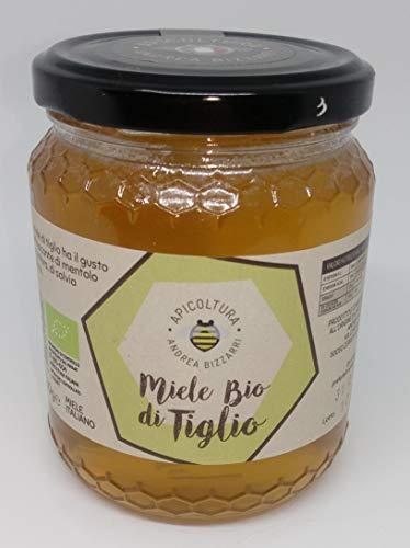 Miele BIO di tiglio 500g. Prodotto e confezionato all'origine in Italia - Toscana - Firenze