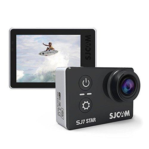 SJCAM SJ7 STAR macchina fotografica d\'azione 4K ultra HD 2.0 pollici schermo a sfioramento remoto Ambarella A12S75 30m impermeabile telecamera sportiva Mini DVR 100{bc7cfd7624ba1eb830a725884d4ec5b47497ca77399e2114a01555e7f59a5711} originale (Black)