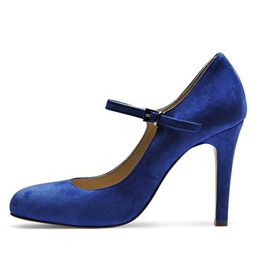 Sandales Femmes Royal / Blanc / Bleu Madeleine NqQj9