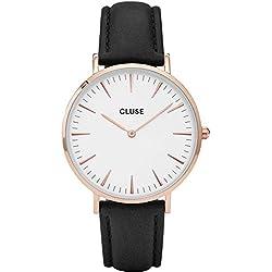 Cluse La Bohème Rose Gold White Watch CL18008