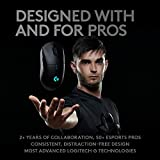 Logitech G PRO Wireless Gaming Mouse with Hero Sensor (16'000 DPI, Lightweight, PC Gaming, 4 Programmable Buttons, Long Battery Life, compatible with Windows, Mac and Chrome OS) – EU Package – Black