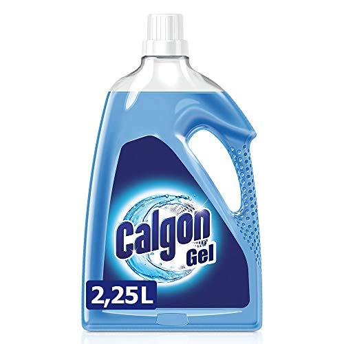 Calgon 3in1 Power Gel - Wirksam gegen Kalk, Schmutz und Gerüche - Schützender Wasserenthärter für die Waschmaschine - 1 x 2,25 l