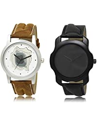The Shopoholic White Black Combo Best Combo Pack White And Black Dial Analog Watch For Boys Watch For Boy