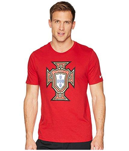 Nike PSF M NK Tee Evergreen Crest, T-Shirt Herren L Gym red -