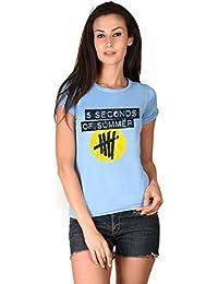 5 Seconds Of Summer Blue Girls T-shirt