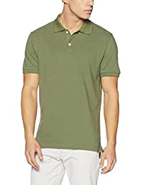 GAP Men's Solid Regular Fit Cotton Polo