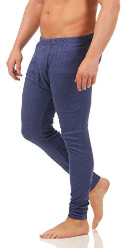 Herren Thermo Unterhose Sport Unterwäsche warme Pants BF 40 Blau