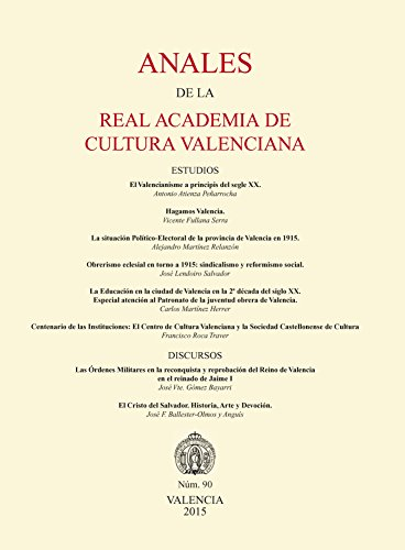 Anales de la Real Academia de Cultura Valenciana