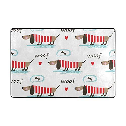 Multi Polyester (BALII Bali Teppich für Hunde und Welpen, weich, 92 x 61 cm, Polyester, Multi, 36
