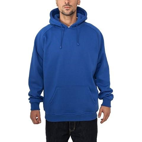 Urban Classics Pullover Blank Hoody - Sudadera con capucha de videojuegos para hombre