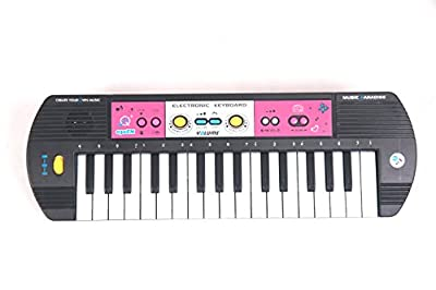 TriEcoWorld (Promo : FREE Phone Holder) PREMIUM QUALITY Education Toy 32 Keys Multifunctional Children's Musical Digital Music Electronic Electric Karaoke Keyboard Piano Organ with Microphone and Radio FM PREMIUM QUALITY Education Toy 32 Keys Multifunctio