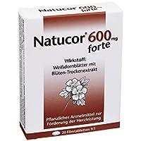 Preisvergleich für NATUCOR 600 mg forte Filmtabletten 20 St Filmtabletten