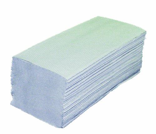 Papier Falthandtücher 2-lagig 40 Pack (40x160Stck=6400 Blatt) Falthandtücher Papier Handtücher Papierfalthandtücher 25x23cm