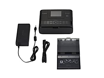 Selphy Cp1200 Wireless Compact Photo Printer- Black 3