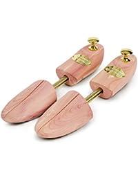 SCHLESINGER – Premium Damen Schuhspanner aus edlem Zedernholz für eine optimale Schuhpflege. Modell Königin. Größe 36 – 41 in Silber oder Messing.
