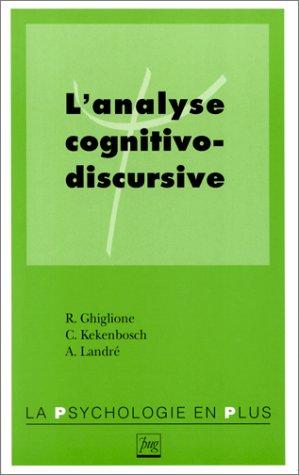 L'analyse cognitivo-discursive