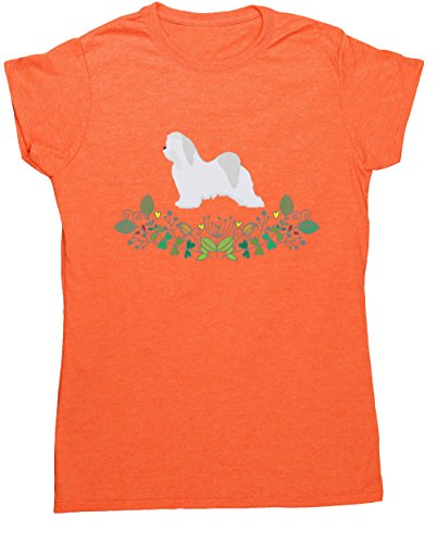 Hippowarehouse Damen T-Shirt Orange (Heather Orange)