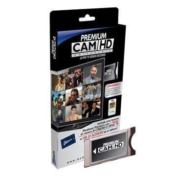 CAM HD MEDIASET PREMIUM-CAM UNIVERSALE-COMPATIBILE TV LED LCD PLASMA NO TESSERA