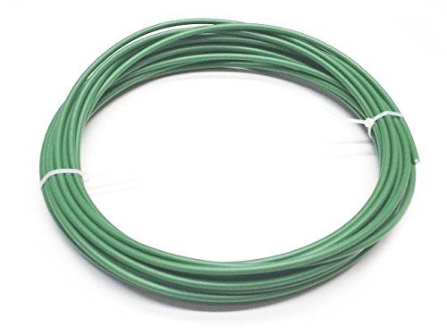 Kunststoffschweißdraht PE-HD 4mm Rund Grün 10 m