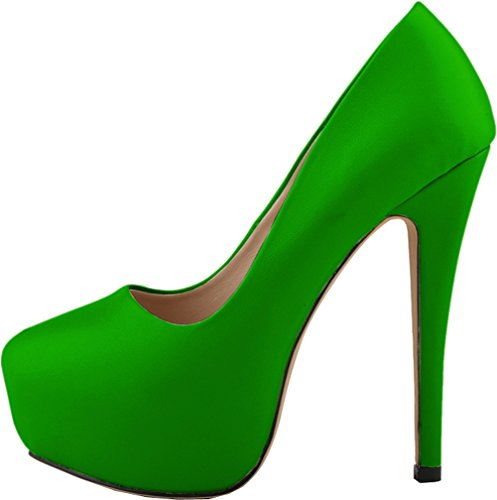 Salabobo , Semelle compensée femme Vert