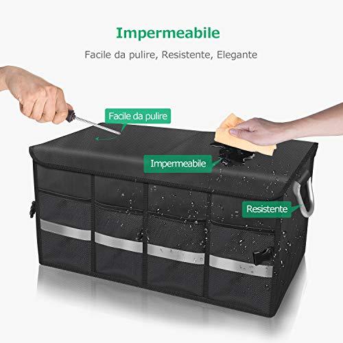 Zoom IMG-3 oasser organizer bagagliaio auto organizzatore