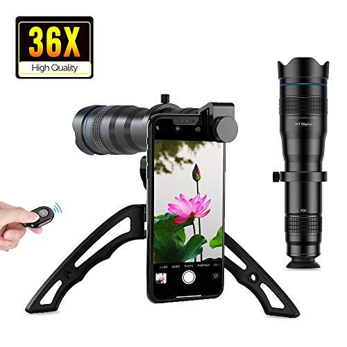APEXEL Kit de Lentes para cámara de teléfono