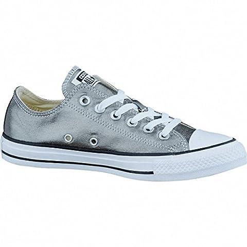 Converse Chucks Taylor All Star Ox Lo 153182c (metallic-herbal-black) Schuhgröße EUR 40 (Chuck Taylor Metallic Lo Top)
