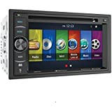 Soundstream Vrn-64hb 2-DIN GPS/DVD/CD/MP3/AM/FM récepteur avec écran LCD 15,7cm/Bluetooth/Mobilelinkx2