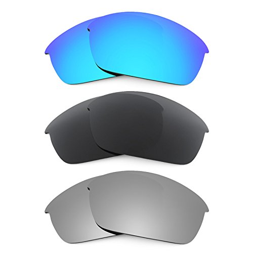 Revant Ersatzlinsen für Oakley Flak Jacket Polarisiert 3 Paar Kombipack K015