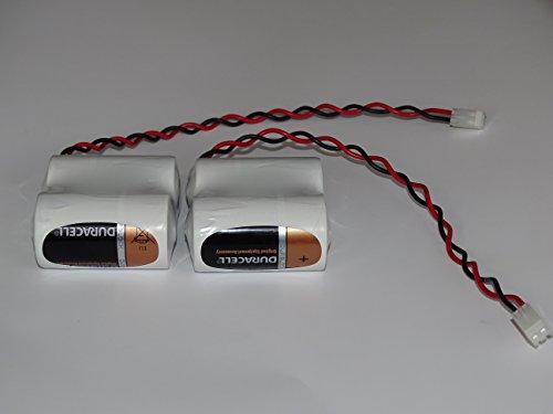 2x2er Mono Batteriepack für System Abus 2Way-Funk-Außensirene-FU 2986