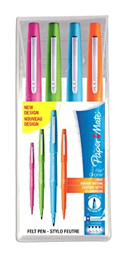 papermate-flair-original-stylo-feutre-pointe-moyenne-assortiment-lot-de-4