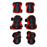 TOYANDONA 1 Set Knee Pads Elbow Pads Wrist Guards Protective Gear Set Skateboarding Cycling Skating Sports Protective Guard Pads for Adult Kids