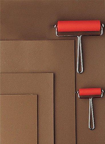 Linolplatte A4, Linoldruckplatte A4, Linolschnitt, Linoldruck