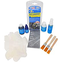 ATG Set para Cuero 4en1: Limpia, tiñe, repara y Sella Cuero Real e