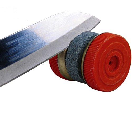 Mini Schleifstein Schnell drehbarem Rad Spitzer Messer Outdoor Pocket Tool tragbar Küche Schleifstein Professional Knife Roll