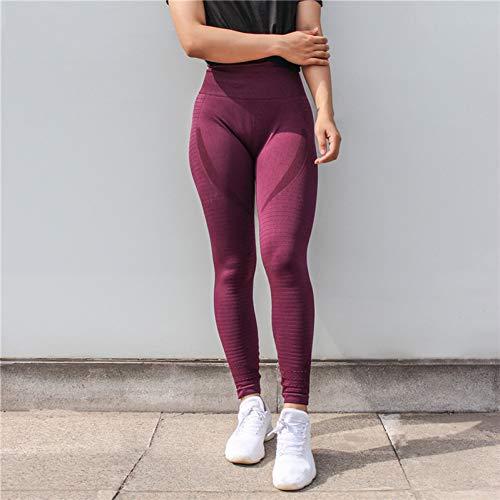 1fd68b9d545b2c YUJIAKU Pantalones de Yoga/Transpirables/Secado rápido/Energy Seamless  Tummy Control Yoga Leggings