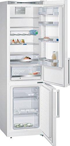 Siemens KG39EAW43 iQ500 Kühl-Gefrier-Kombination / A+++ / 201 cm Höhe / 156 kWh/Jahr / 250 Liter Kühlteil / 89 Liter Gefrierteil / Kältegerät kühlt besonders effizient